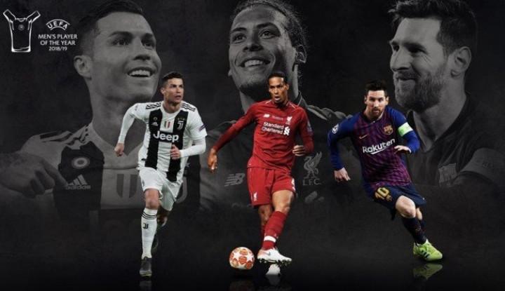 Daftar Pemain Terbaik UEFA, Siapa Saja? - Warta Ekonomi