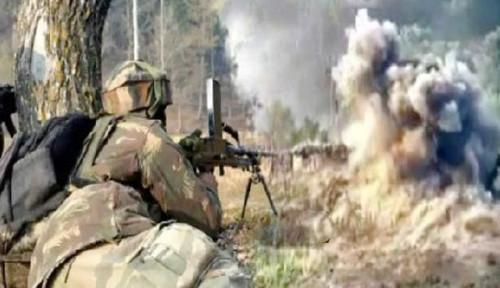 Foto Perang Militer India dan Pakistan di Kashmir Tewaskan 10 Orang