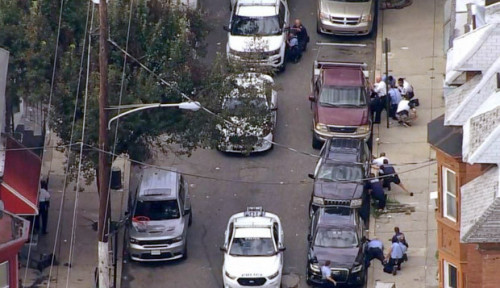 Foto Usai Baku Tembak Selama 7 Jam, Pelaku Penembakan di Philadelphia Ditangkap