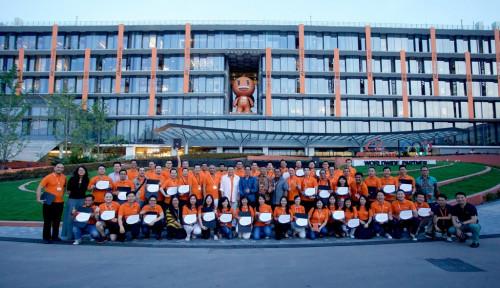 Foto Bedah Kantor Pusat Alibaba di China, Hampir 57x Lebih Luas dari Gedung DPR!
