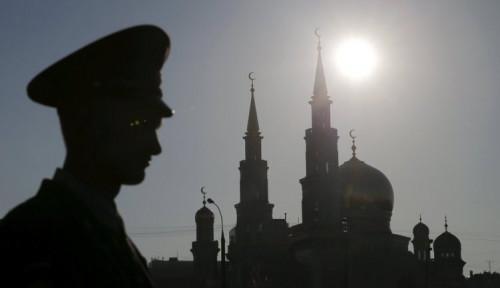 Foto Saat Perbaikan Konstruksi, Ada Bom Perang Dunia II Terkubur di Kremlin