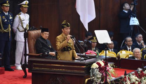 Foto Jokowi: Jangan Lupakan Gerindra Cs