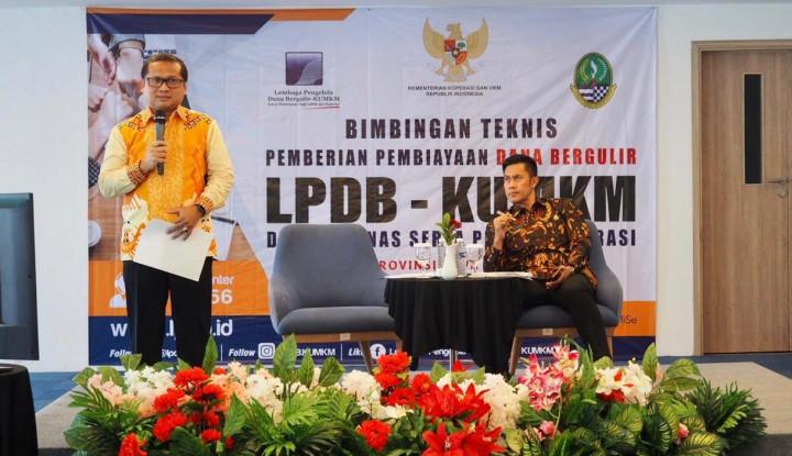Sebut Koperasi di Indonesia Semakin Berkualitas, LPDB-KUMKM Berikan Bimtek Dana Bergulir - Warta Ekonomi