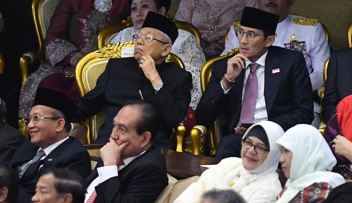Bang Sandi Komentar Soal Prabowo Jadi Menhan: Mudah-Mudahan. . . . - Warta Ekonomi