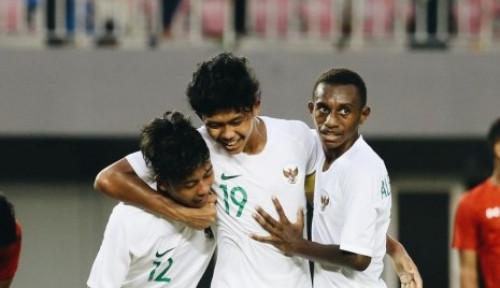 Foto Timnas Indonesia U-16 Kalahkan Montenegro 1-0
