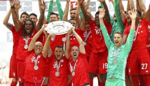 Foto Muenchen Masih Jadi Kandidat Kuat Juara Bundesliga