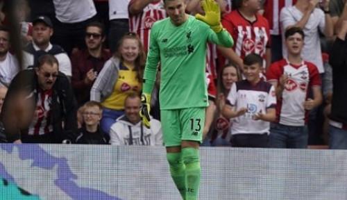 Foto Adrian Blunder, Pelatih Liverpool: Gara-Gara Alisson