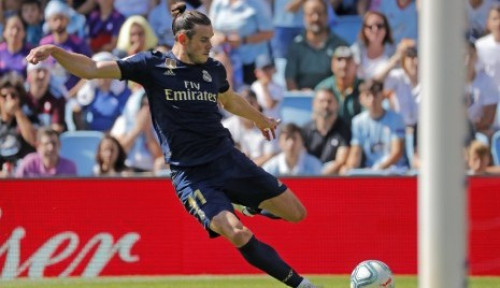 Foto Zidane Pastikan Bale Tetap Perkuat Real Madrid