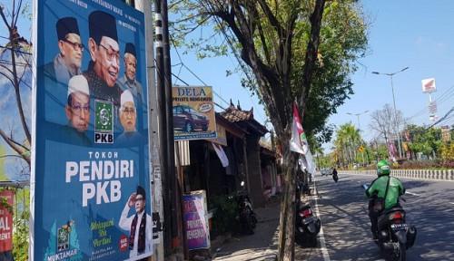 Foto Jelang Muktamar, Nusa Dua Bali Dihiasi Bendera PKB