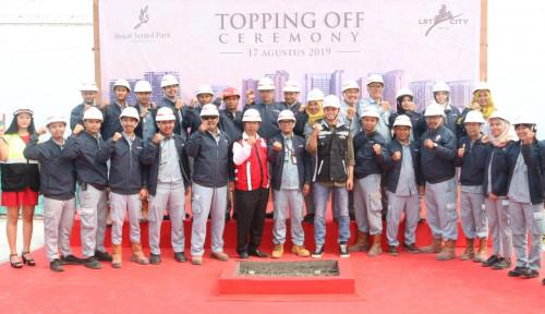 Foto Topping Off, ACP Bidik Penjualan Tower I Royal Sentul Park Ludes Tahun Ini