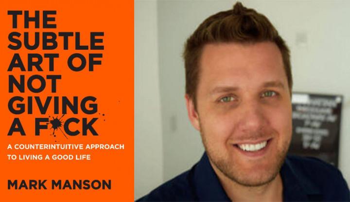 Mark Manson Ungkap Tips Menjadi Penulis Sukses - Warta Ekonomi