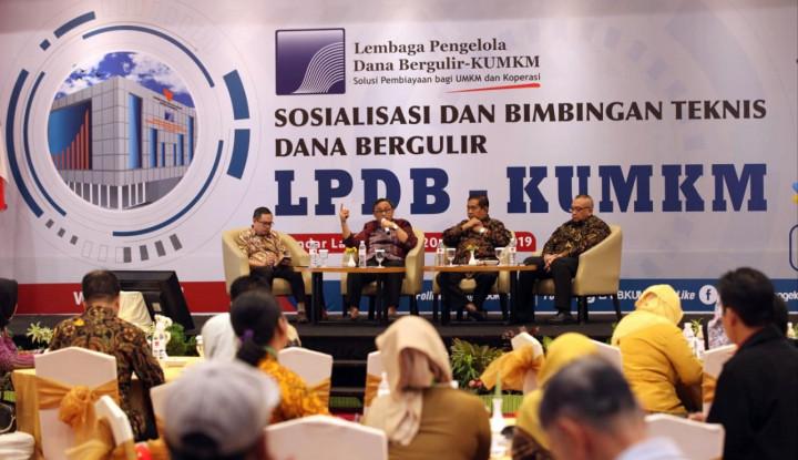 LPDB-KUMKM Permudah Akses Pembiayaan Dana Bergulir - Warta Ekonomi