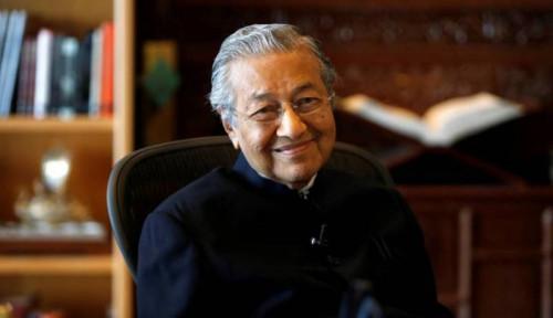 Foto Ternyata Ini Rahasia PM Mahathir Masih Bugar di Usia Senja