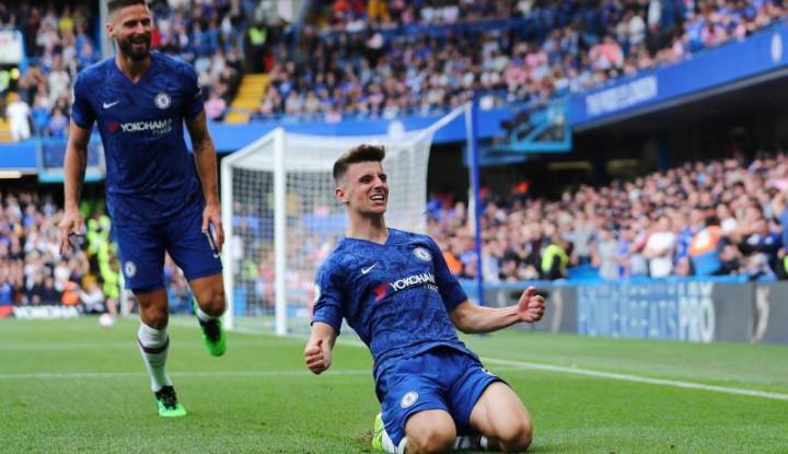 Cetak Gol Perdana untuk Chelsea, Mason Mount Bilang. . .
