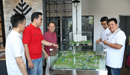 Foto Masuk Pembangunan Akhir, JP Apartment Bakal Serah Terima Tahun 2020