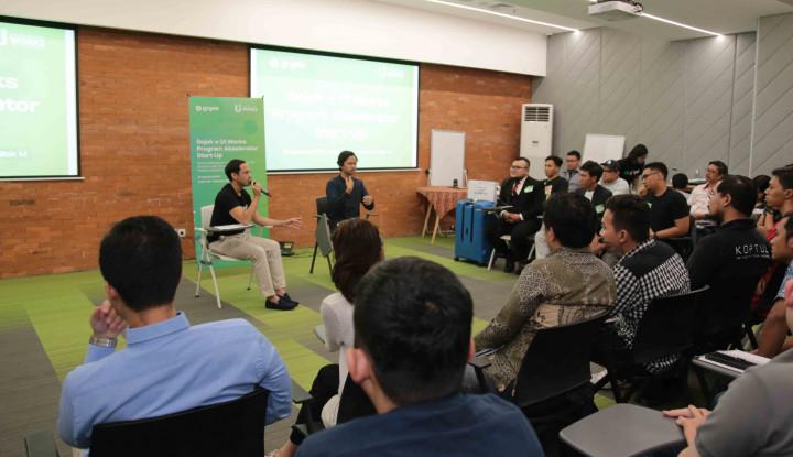 Gojek Gandeng UI Works Cetak Lebih Banyak Start-Up Karya Anak Bangsa - Warta Ekonomi