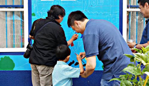 Foto Asuransi Astra Revitalisasi Sekolah PAUD di Medan