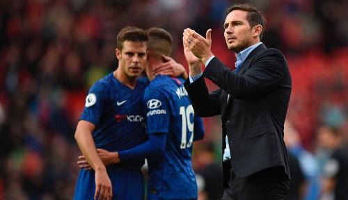 Foto Hasil Minor Chelsea di Liga Inggris, Frank Lampard Banjir Kritikan