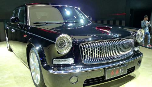 Foto Mau Tahu Bandrol Mobil Sport Listrik Hongqi?
