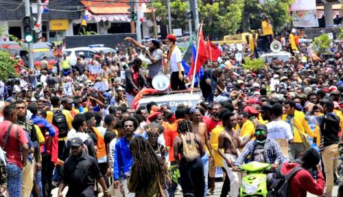 Foto Papua Bergejolak, Sudah Didesain?