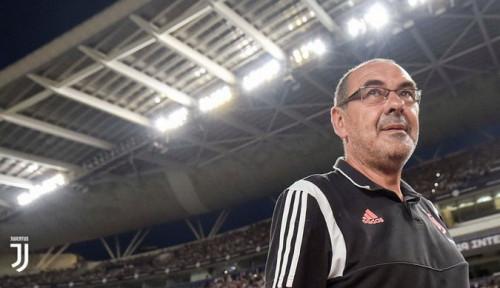 Foto Lawan Napoli, Sarri Kecam Permainan Juventus