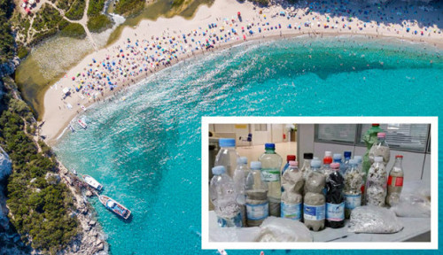 Foto Curi 40 Kg Pasir Pantai, Turis di Italia Terancam Pidana