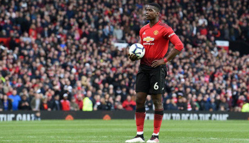 Foto Pogba Diklaim Bakal Jadi Legenda Bareng Man United