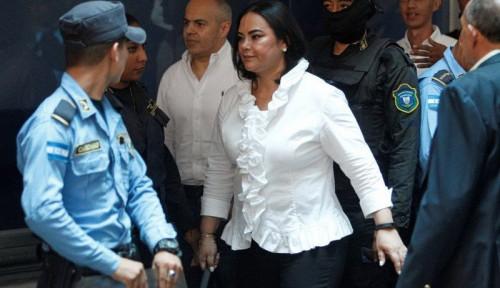 Foto Korupsi Dana untuk Anak Miskin Rp10,6 Miliar, Eks Ibu Negara Honduras Terancam Pidana 87 Tahun