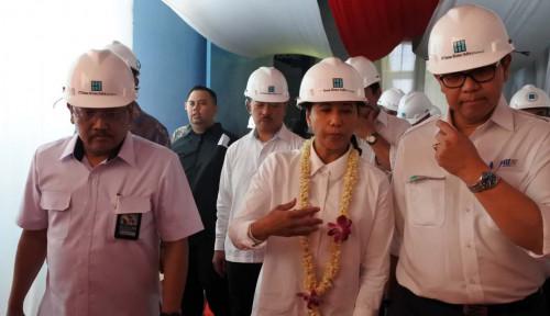 Foto Pinta Menteri Rini: Boma Bisma Wajib Jadi Raja Industri Mesin Diesel Nasional