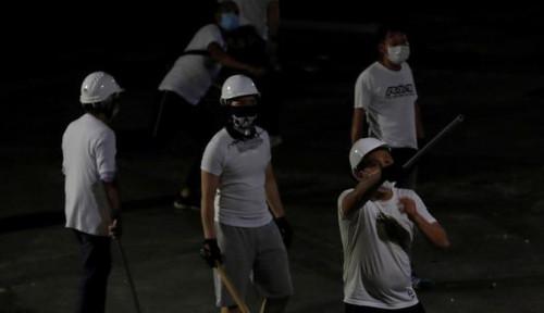 Foto Mengenal Triad, Kelompok Kriminal yang Diduga Tunggangi Kerusuhan Hong Kong