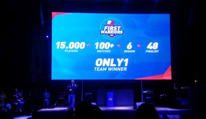 First Warriors, Audisi eSports First Media Berhadiah Rp1,3 M - Warta Ekonomi
