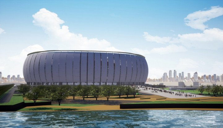 Proyek Stadion BMW Jatuh ke WEGE, Kontraknya Tembus... - Warta Ekonomi
