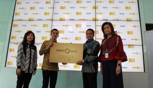 Foto Gandeng TADA, MNC Bank Luncurkan Kartu Digital
