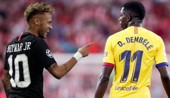 Dembele Akui Tak Masalah dengan Kehadiran Neymar - Warta Ekonomi