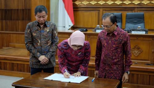Foto Serius Kembangkan Energi Bersih, Pemprov Bali Sepakati Kerja Sama dengan PLN