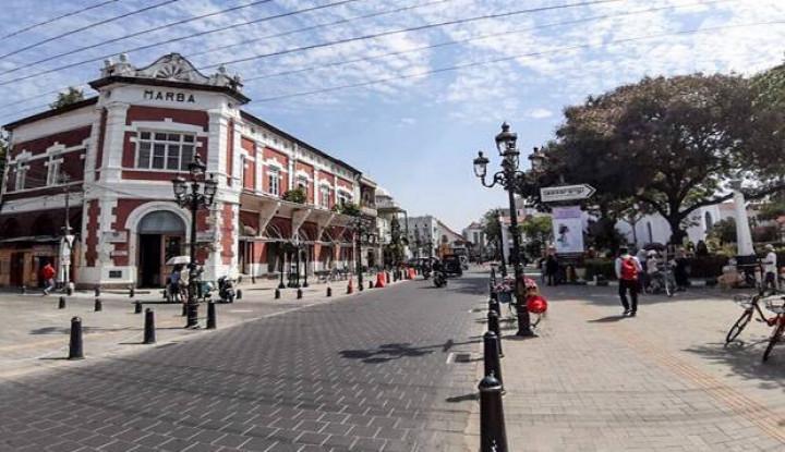 Kawasan Kota Lama Semarang Makin Anggun Usai Diremajakan - Warta Ekonomi