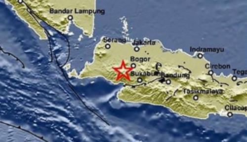 Foto Bogor Diguncang Gempa Bumi Magnitude 4.0