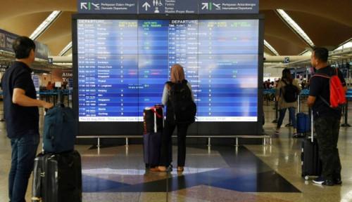 Foto Sistem di Bandara Kuala Lumpur Lumpuh, Pihak Bandara Imbau Penumpang Tiba Lebih Awal