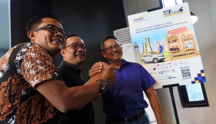 Gelar MTF Autofiesta Surabaya 2019, MTF Targetkan Pembiayaan Rp2,3 T Hingga Akhir Tahun - Warta Ekonomi