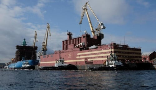 Foto Intelijen AS Sebut Ledakan Nuklir Rusia Akibat Sebuah Kapal
