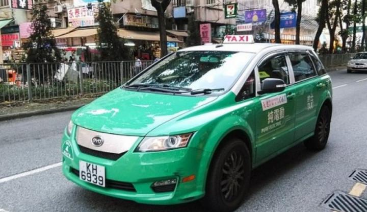 Lawan Polusi Mobil, Beijing Targetkan 20 Ribu Taksi Listrik Mengaspal - Warta Ekonomi