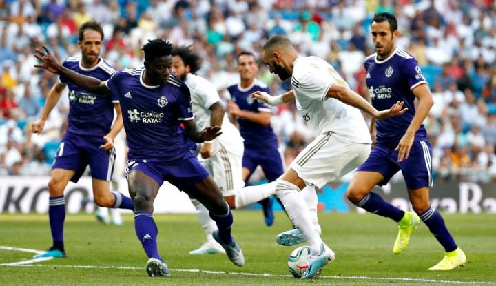 Madrid Cuma Bisa Main Imbang 1-1 Lawan Valladolid - Warta Ekonomi