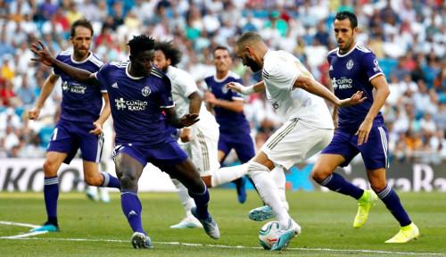 Foto Madrid Cuma Bisa Main Imbang 1-1 Lawan Valladolid