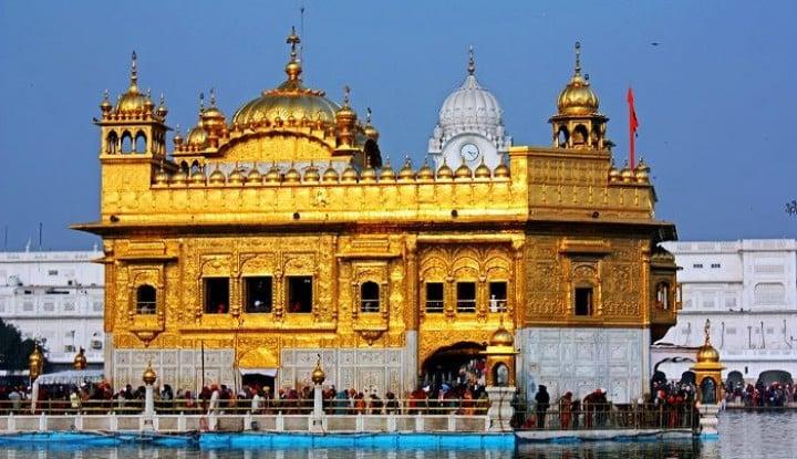 Menengok Kemegahan Golden Temple, Tempat Wisata Paling Banyak Dikunjungi Turis di India - Warta Ekonomi