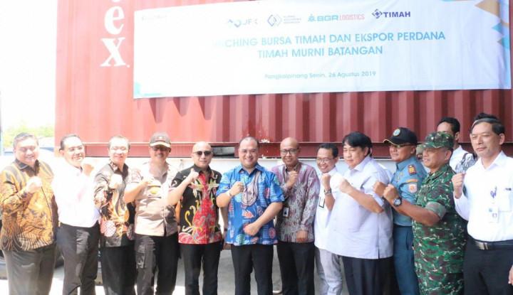 KBI dan BGR Logistics Lepas Ekspor Perdana 1.410 Ton Timah - Warta Ekonomi