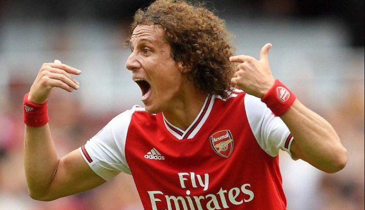 Meski Imbang, David Luiz Akui Senang dengan Penampilan Arsenal - Warta Ekonomi