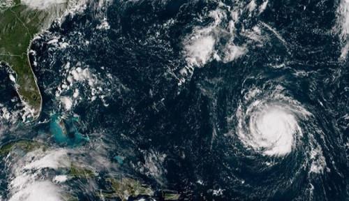 Foto Kata Pakar Soal Usul Trump Gunakan Nuklir untuk Atasi Badai: Itu Berbahaya dan Berisiko