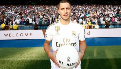Foto Sudah Pindah ke Madrid, Hazard Jelek-jelekan Chelsea