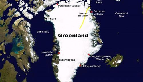Perih! Lapisan Es Greenland Seluas 100 Km Kembali Terpecah-pecah