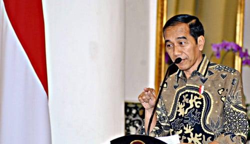 Foto Jawab Situasi Nasional, Jokowi Bersuara
